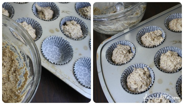 Baby Finger Food: Vegan Oatmeal Muffins