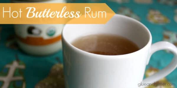 Vegan Hot Buttered Rum