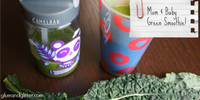 Mom and Baby Green Smoothie Recipe