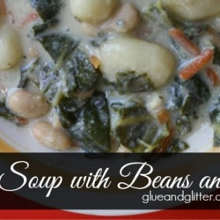 Gnocchi Soup with Beans and Greens