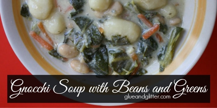 Gnocchi soup is so hearty and filling on a chilly evening!