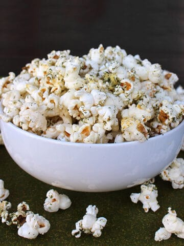 Mix up this 3-ingredient homemade ranch seasoning, and get a ranch popcorn recipe to go with it!