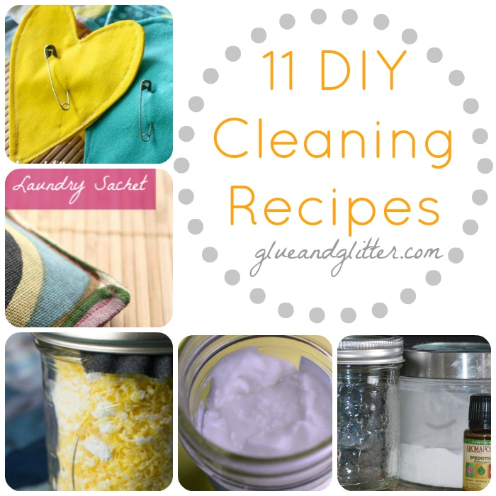 This is a collection of my green cleaning recipes, along with some tried-and-true favorites from my friends.