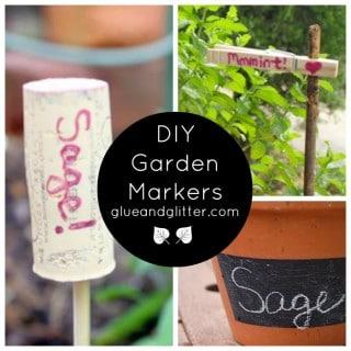 DIY Garden Markers for Your Spring Garden