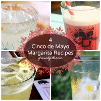 Are you getting excited about Cinco de Mayo? Me tooooo! Here are some margarita recipes for Cinco de Mayo to get you in the spirit.