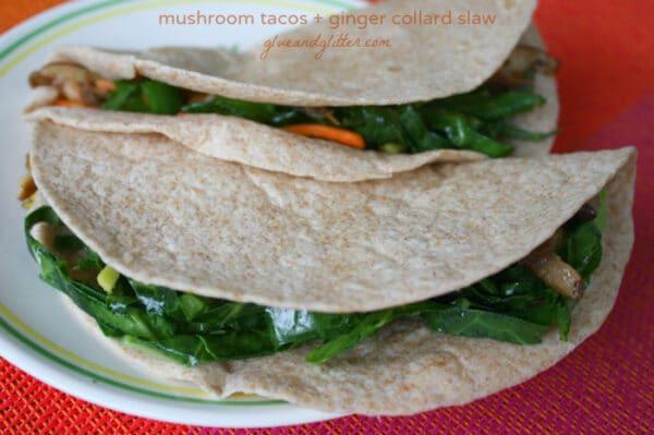 Make some mushroom tacos for your next taco night!