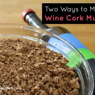 Making Mulch for Your Garden from Wine Corks
