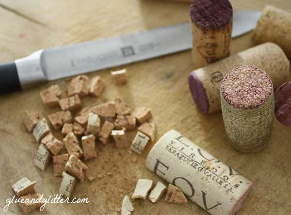 If you've got a big stash of wine corks, try making mulch with them! Here are two options for making wine cork mulch.