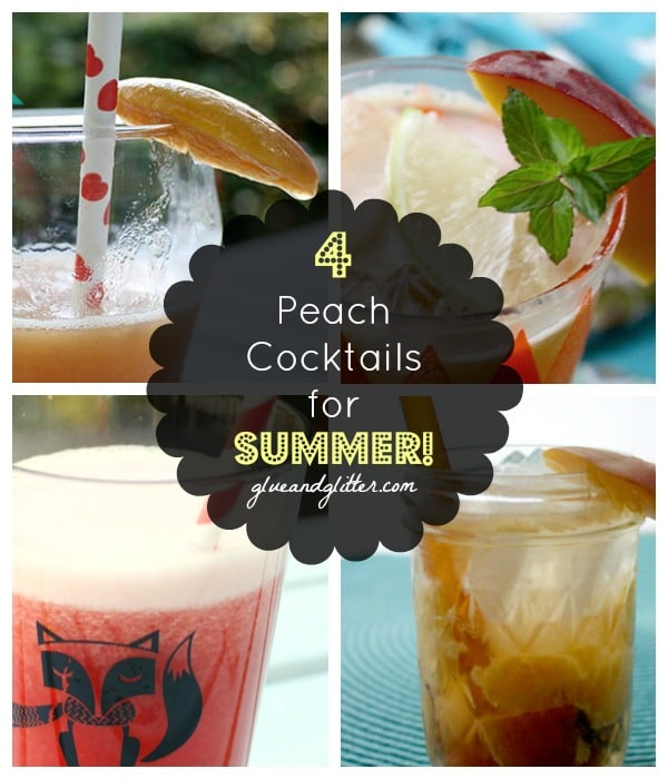 Summer Cocktail Recipes Starring Seasonal Peaches