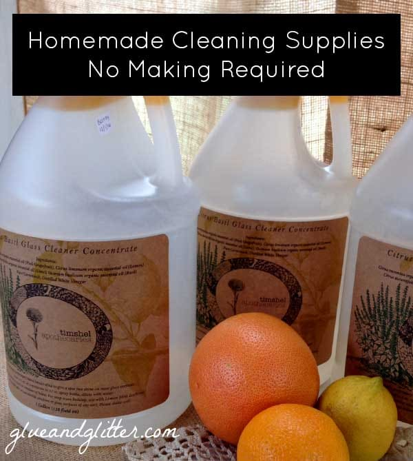 Homemade Cleaning Products You Don't Have to Make