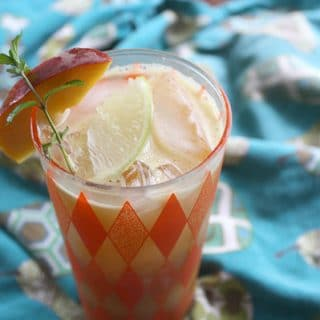 Jalapeno-Mint Peach Mojito Recipe