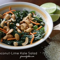 This simple kale salad recipe is super satisfying and takes less than ten minutes to make.