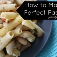 I thought I knew how to make pasta, but it turns out I've been doing it wrong for my entire adult life. Here's how to make perfect pasta that doesn't stick.