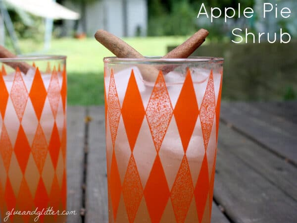 Serve up thise homemade apple pie soda with our without a splash of rum.