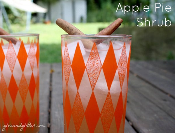 Serve up this homemade apple pie soda with our without a splash of rum.