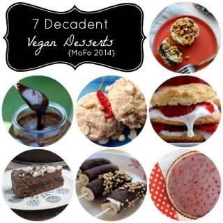 7 Vegan Dessert Recipes from Vegan Mofo