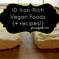 There are plenty of vegan iron rich foods. Here are some great options, plus recipes starring each one!