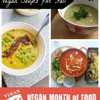 Vegan Soup Recipes from Vegan MoFo