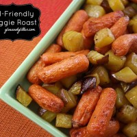 Kid Friendly Vegetable Roast Recipe