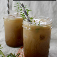 Lavender Kahlua and Cream is sweet, herbal, and refreshing!