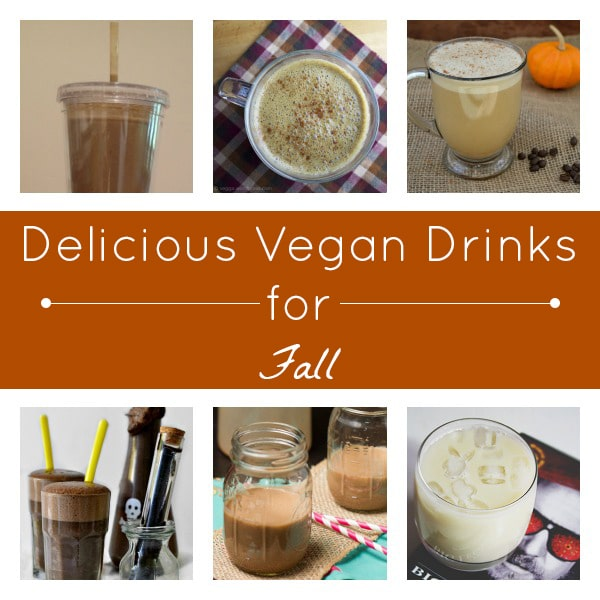 So many amazing vegan drinks for fall!