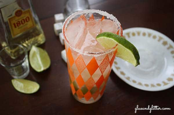 Tequila and ginger ale is a surprisingly delicious combination. Especially with lime and salt. Think of this as the ginger-lover's margarita.