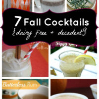 Decadent, Dairy Free Fall Cocktails
