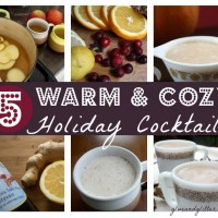 Warm up with holiday cocktails that are hot off of the stove!
