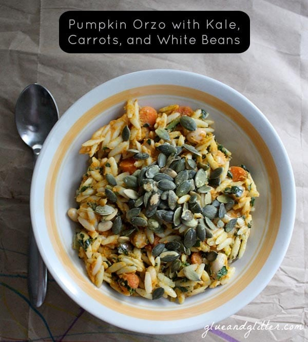 Y'all. No one needs to know how easy this pumpkin orzo recipe is. It can be our little secret.