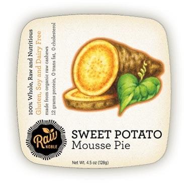 Raw Sweet Potato Pie from Raw Noble
