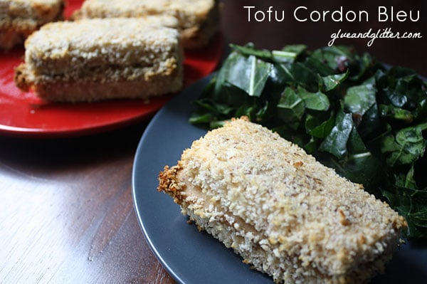 This decadent, creamy, crunchy tofu cordon bleu recipe is simple enough for a weeknight meal but fancy enough for the holiday table.