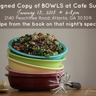 Upcoming Bowls Signing + Online January Special