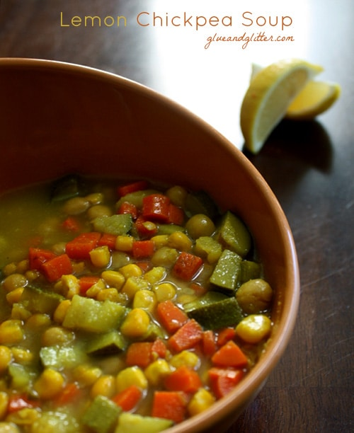 This garbanzo bean soup didn't start out as a crock pot recipe, but I'm so glad that it turned out that way!
