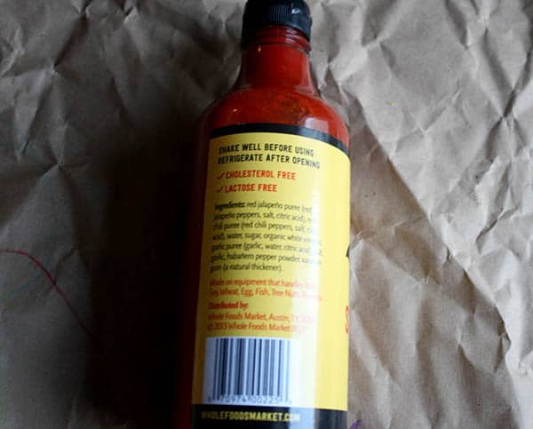 Ninja Squirrel Sriracha Sauce Review + Recipe