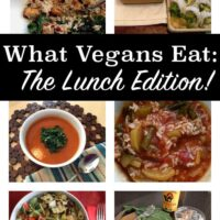 Check out what vegans eat for lunch on a typical day. #whatveganseat
