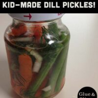 How to Make Dill Pickles (with 23 toddlers - optional)