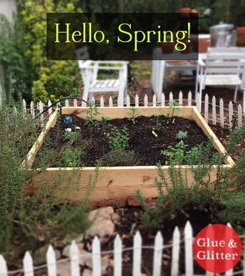 This Raised Bed Herb Garden Was So Easy To Build, That We Built Two More