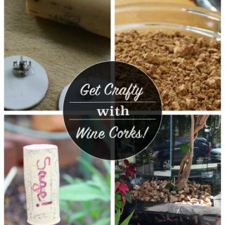 Wine Cork Crafts + The Joy of Reuse in Unexpected Places