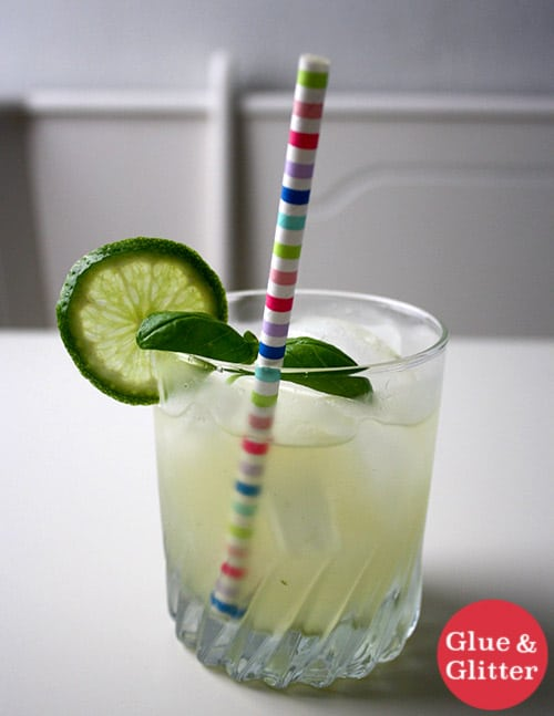 Easy Margarita Recipe: Basil + Lime Margarita