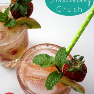 Easy Kiwi-Strawberry Crush Cocktail