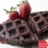Brownie Mix Waffle Iron Brownies (omg!)
