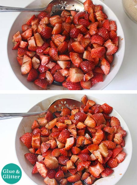 Quick, Low Sugar Balsamic Strawberry Preserves