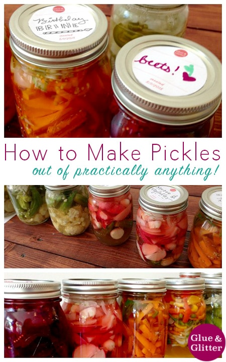 My Basic Refrigerator Pickle Recipe - Over the weekend, I had a long-time dream come true: I taught my first full-on cooking class. We played around with my refrigerator pickle recipe and had such a blast!