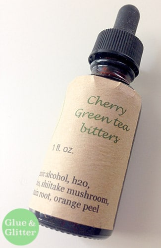 Cherry Green Tea Bitters