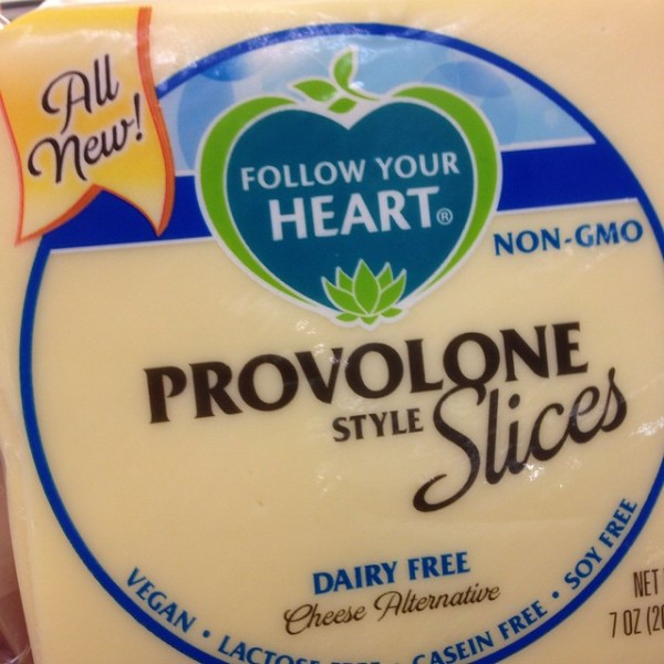 package of Follow Your Heart Provolone Style Slices