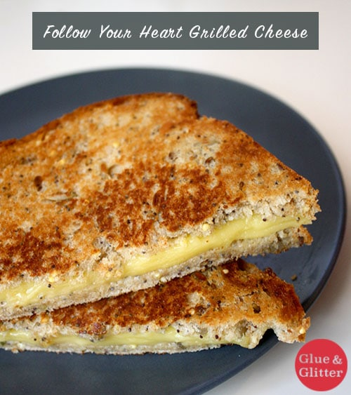 I finally got my hands on the new Follow Your Heart Provolone Slices! I ate them plain and gave them the grilled cheese test to see how they held up.