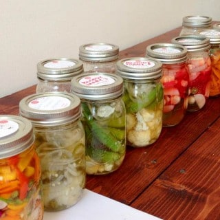 My Basic Refrigerator Pickle Recipe + Workshop Wrap-Up