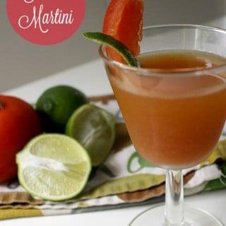 Spiced Tomato Martini