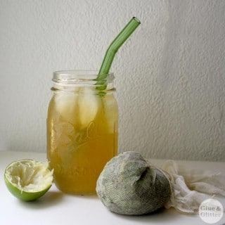 Make Grab-and-Go Mojito Green Sun Tea