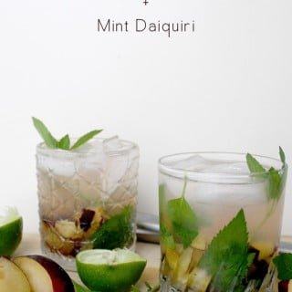 Black Plum and Mint Daiquiri